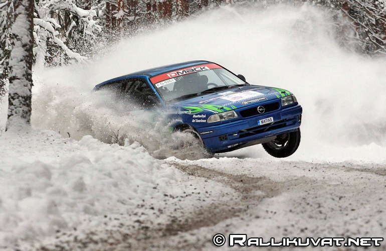 Plus katsastus Ralli, Raisio